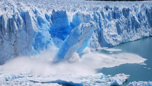 Antarctic-melting-glaciers